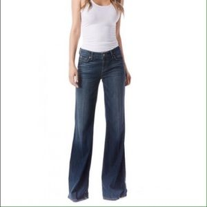 NWT Level 99 Wide Leg Soft Denim Jeans